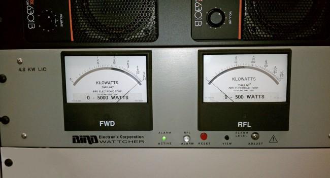 WDST forward power meter