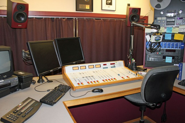 WDST main production room