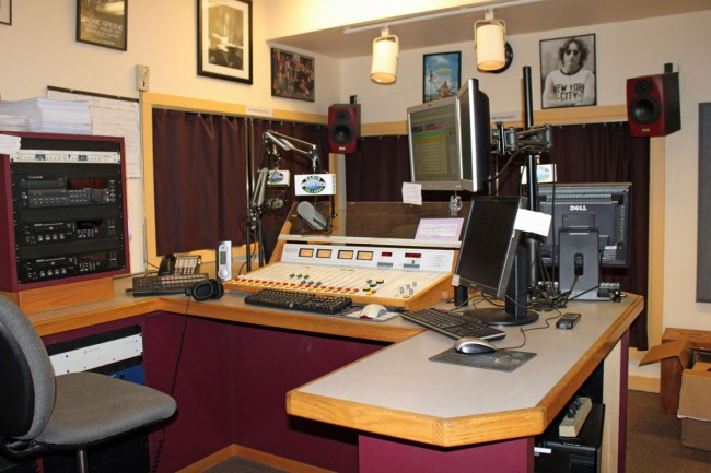 WDST air studio, Woodstock, NY