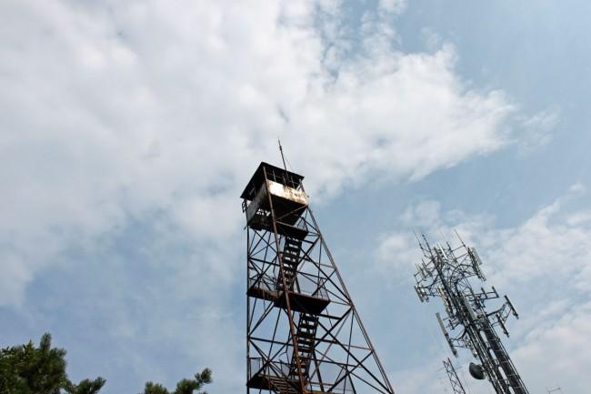 Clove Mountain fire tower, clove mountain, NY