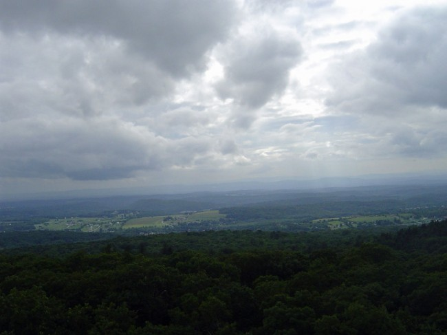 Clove Mountain view to Northwest