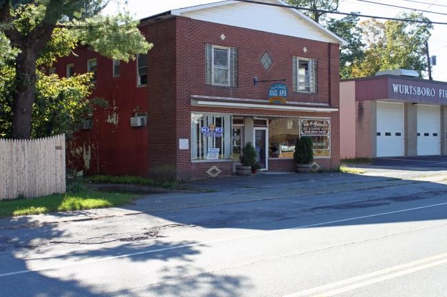 WZAD studio, Wurtsboro, NY