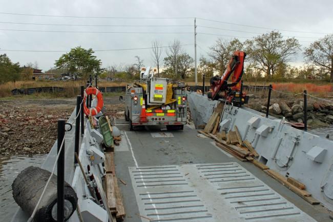 ATT truck offloading
