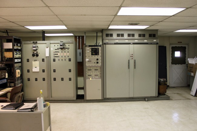 WROW transmitter room