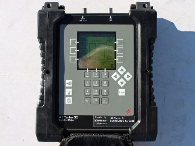 Satellite aiming tool