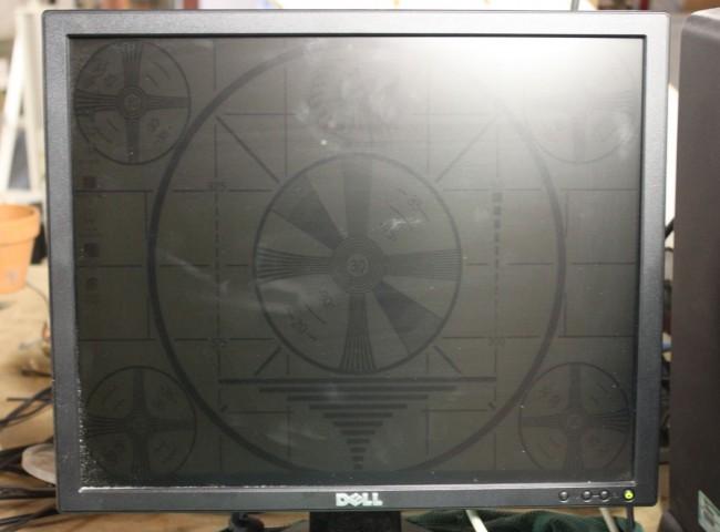 Dell E198FPf LCD monitor back lighting problem