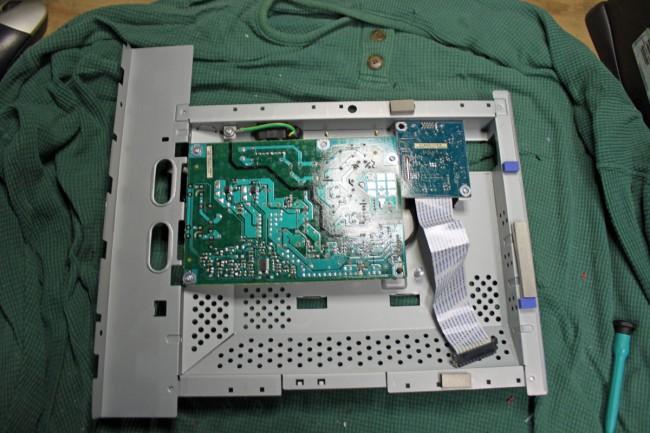LCD monitor power supply