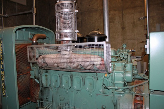 ATT Rock City NY generator, Detroit Diesel straight six engine