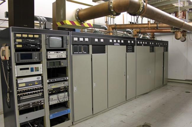 Former WMHT Comark analog transmitter