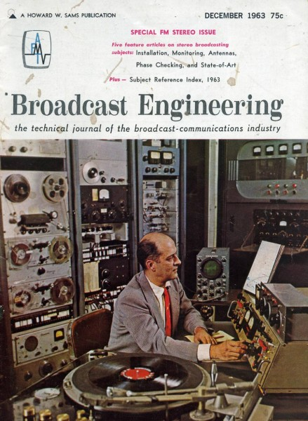 Broadcast Engineering, December 1963, Vol 5 no 12
