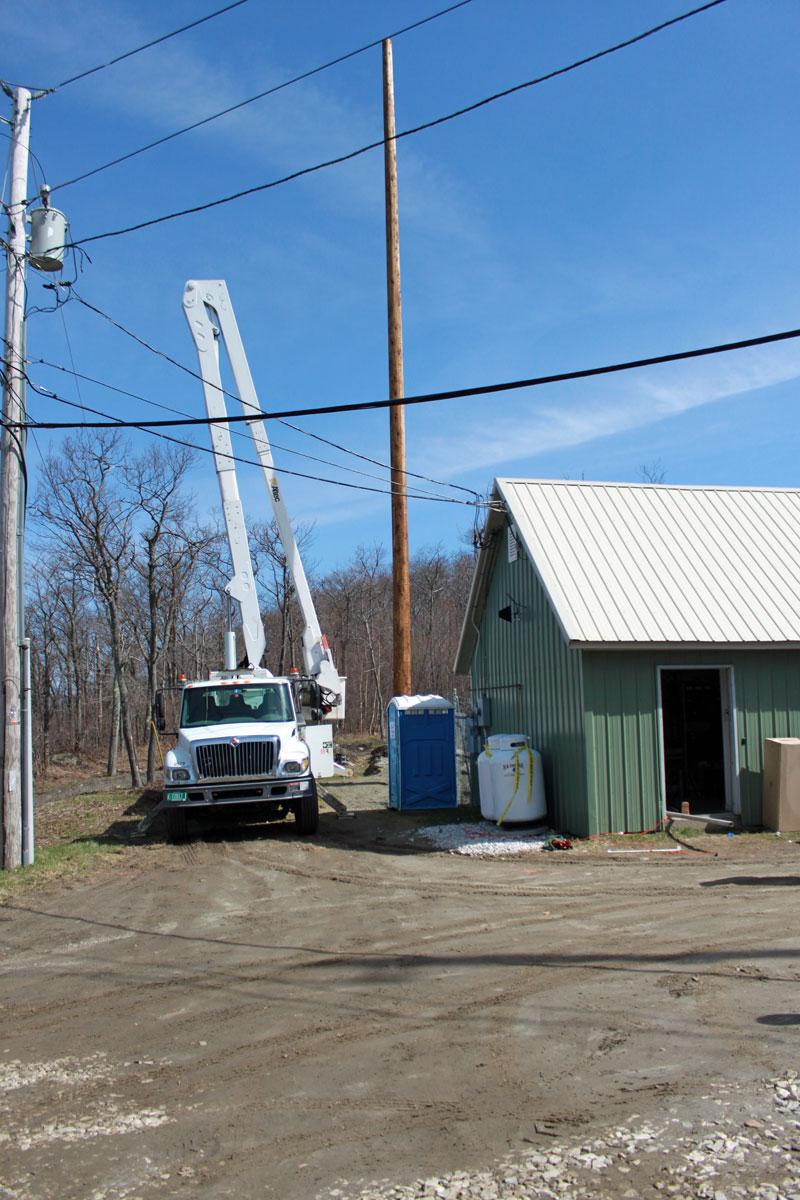 North Adams tower update