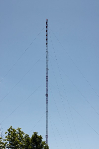 WQBJ six bay Shively 6810 antenna