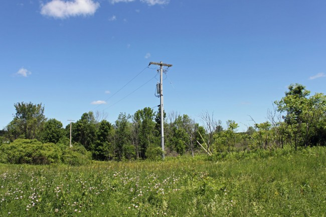 WQBJ transmitter site electrical service