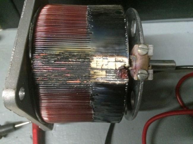 Broadcast Electronics FM35A filament voltage regulating transformer