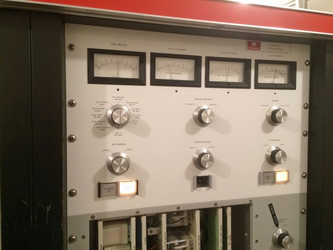 Collins 831F2 transmitter