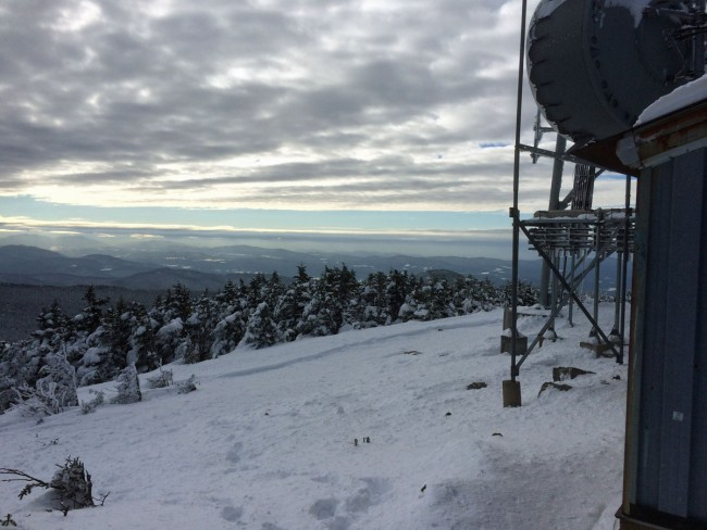 View from Killington Peak
