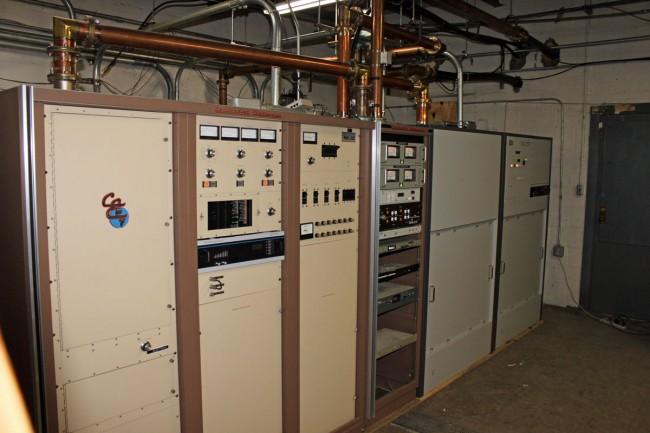WFLY backup and main transmitters