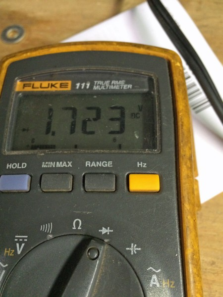 Scoreboard LED voltage drop