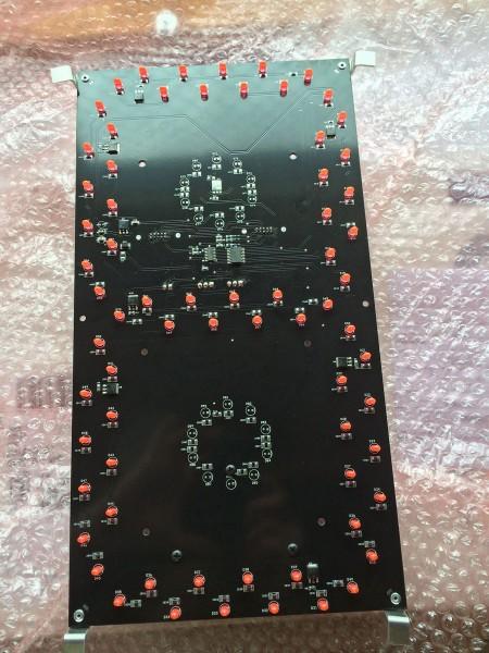 Scoreboard single digit circuit board