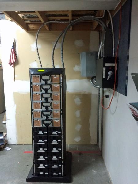 Eaton Powerware 9170+ 18 KVA UPS covers off