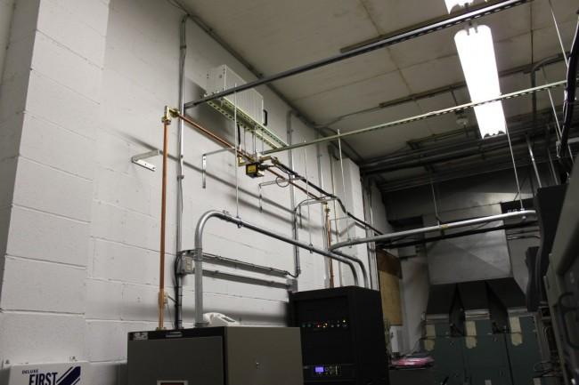 Transmitter installation