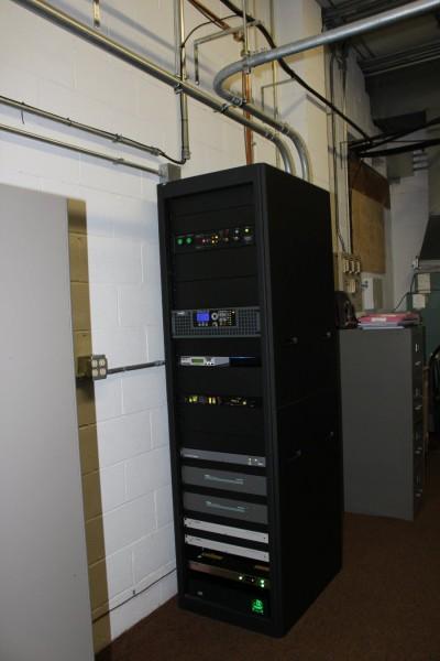 New transmitter installation
