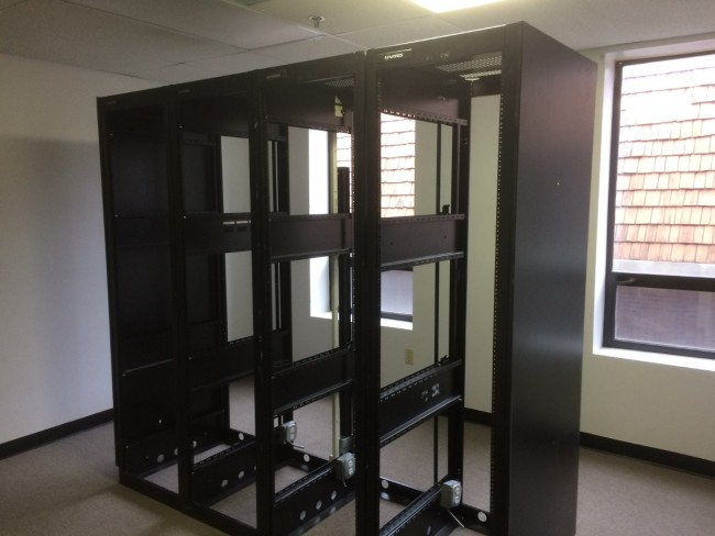 Used equipment racks