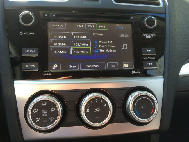 HD Radio as a stock item