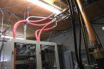 FLX-40 coolant lines