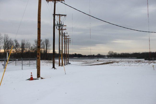 Solar Array utility company disconnect, Glenmont, NY