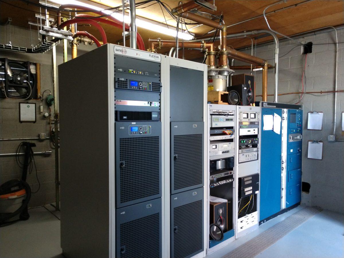 GatesAir FLX-40 transmitter, WEBE Bridgeport, CT