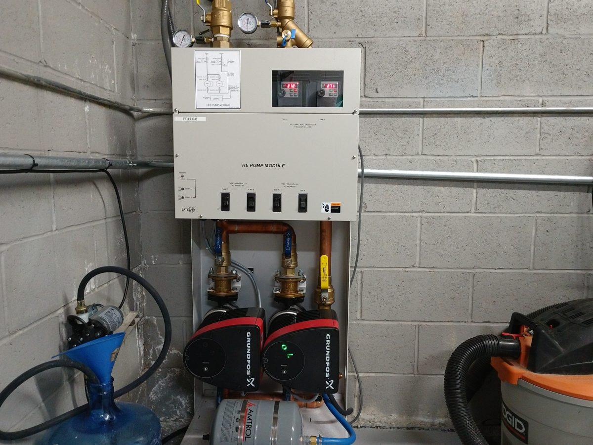 WEBE Pump station