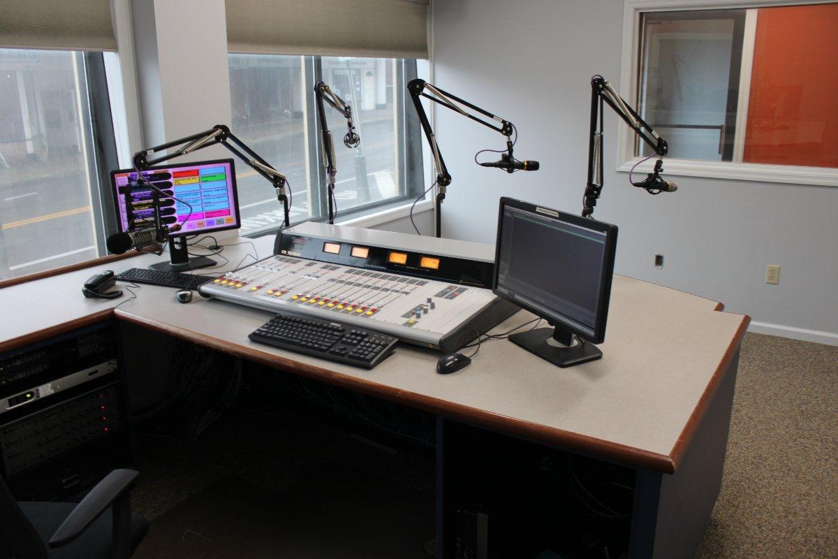 Main studio, Oneonta, NY