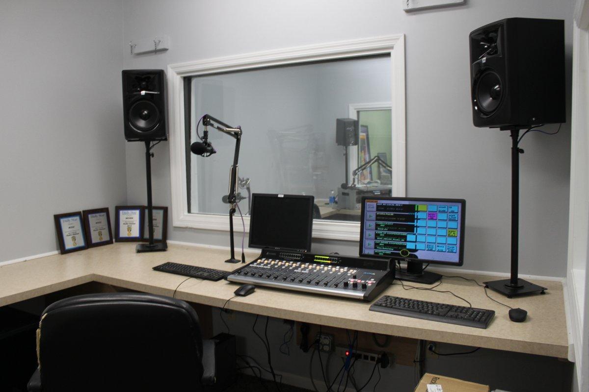 Studio D, (WSRK) Oneonta, NY