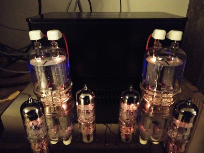 Audioromy M-828A tube audio amp
