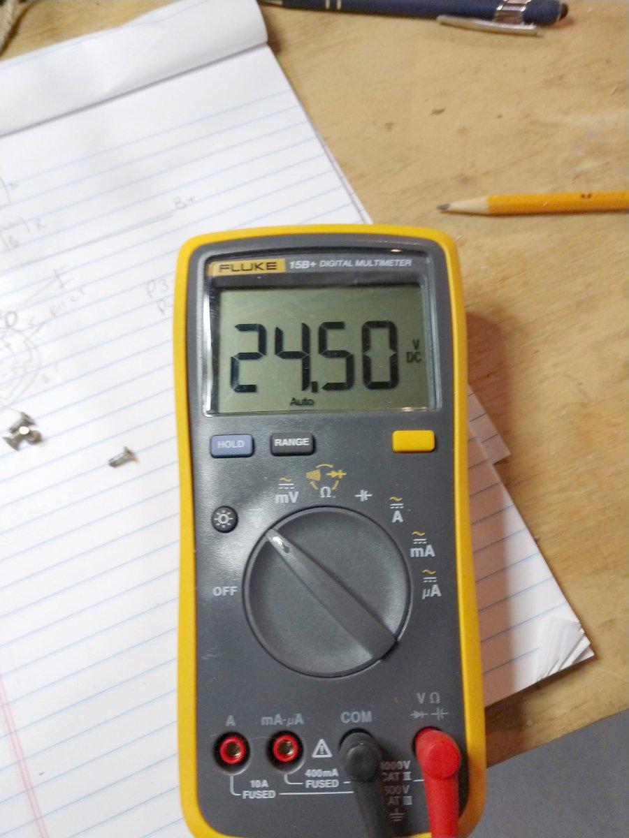 Bext 30 Watt exciter power supply voltage