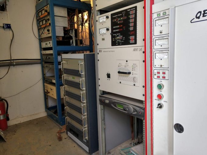 The Broadcast Electronics STX-5 transmitter