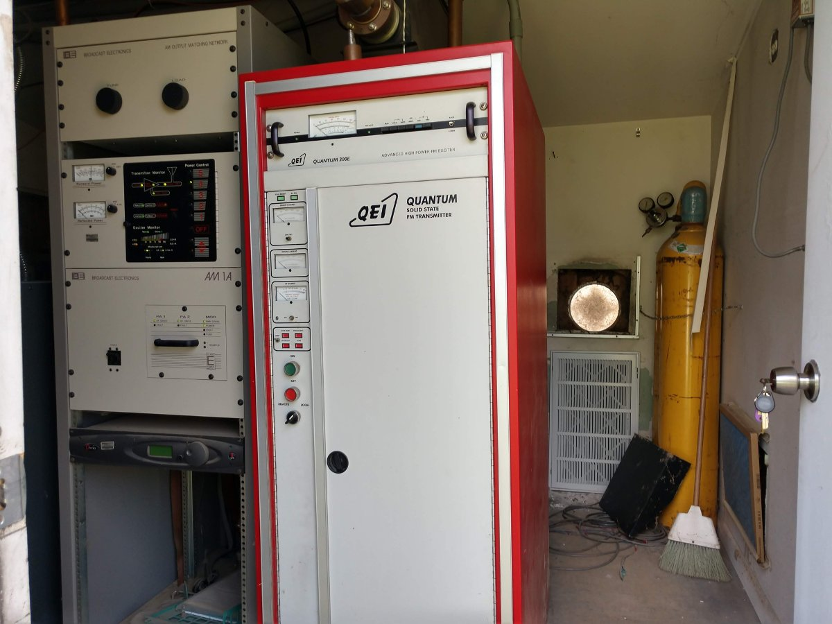 Tired old QEI transmitter