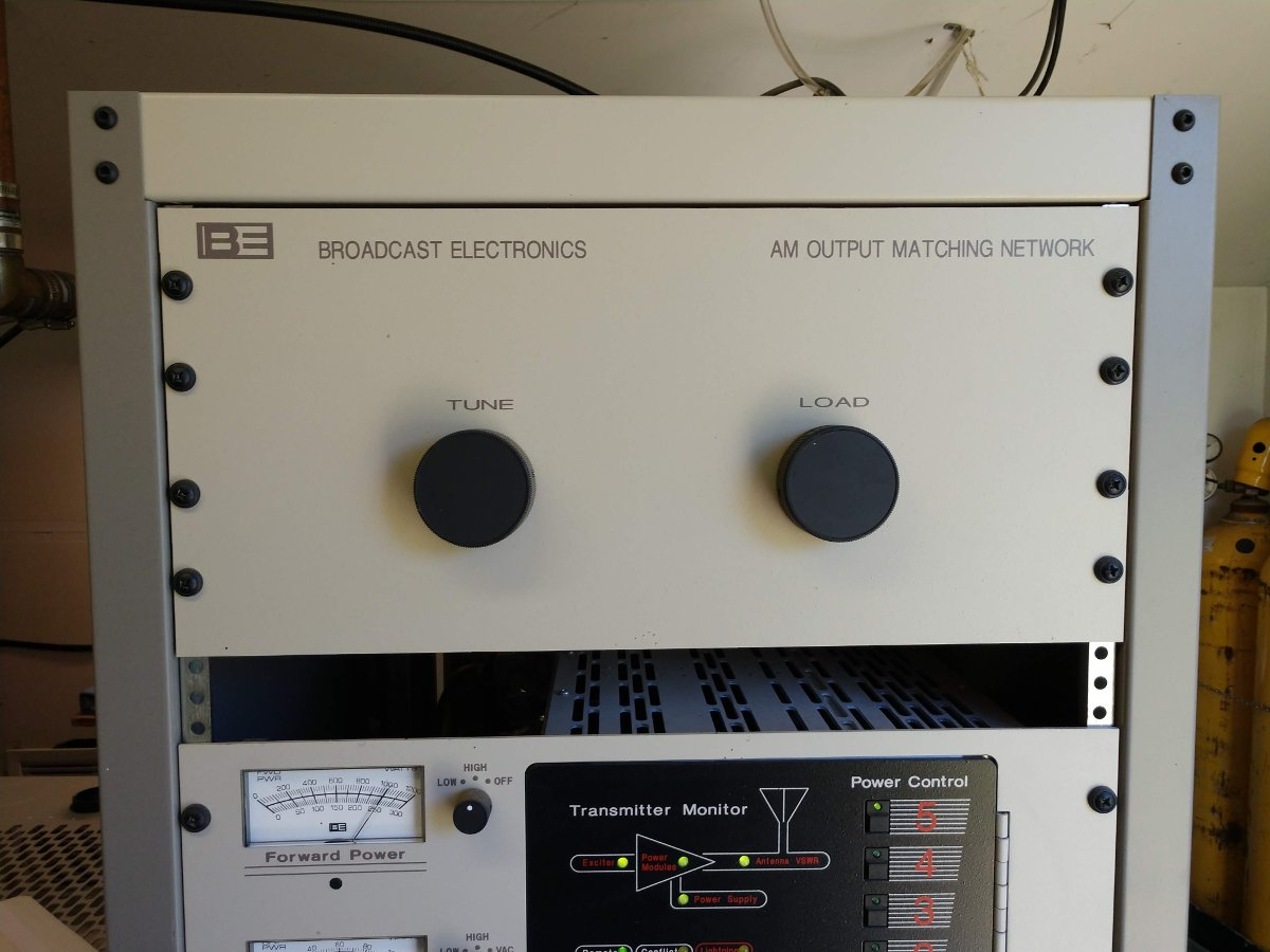Broadcast Electronics AM Output Tuning Network