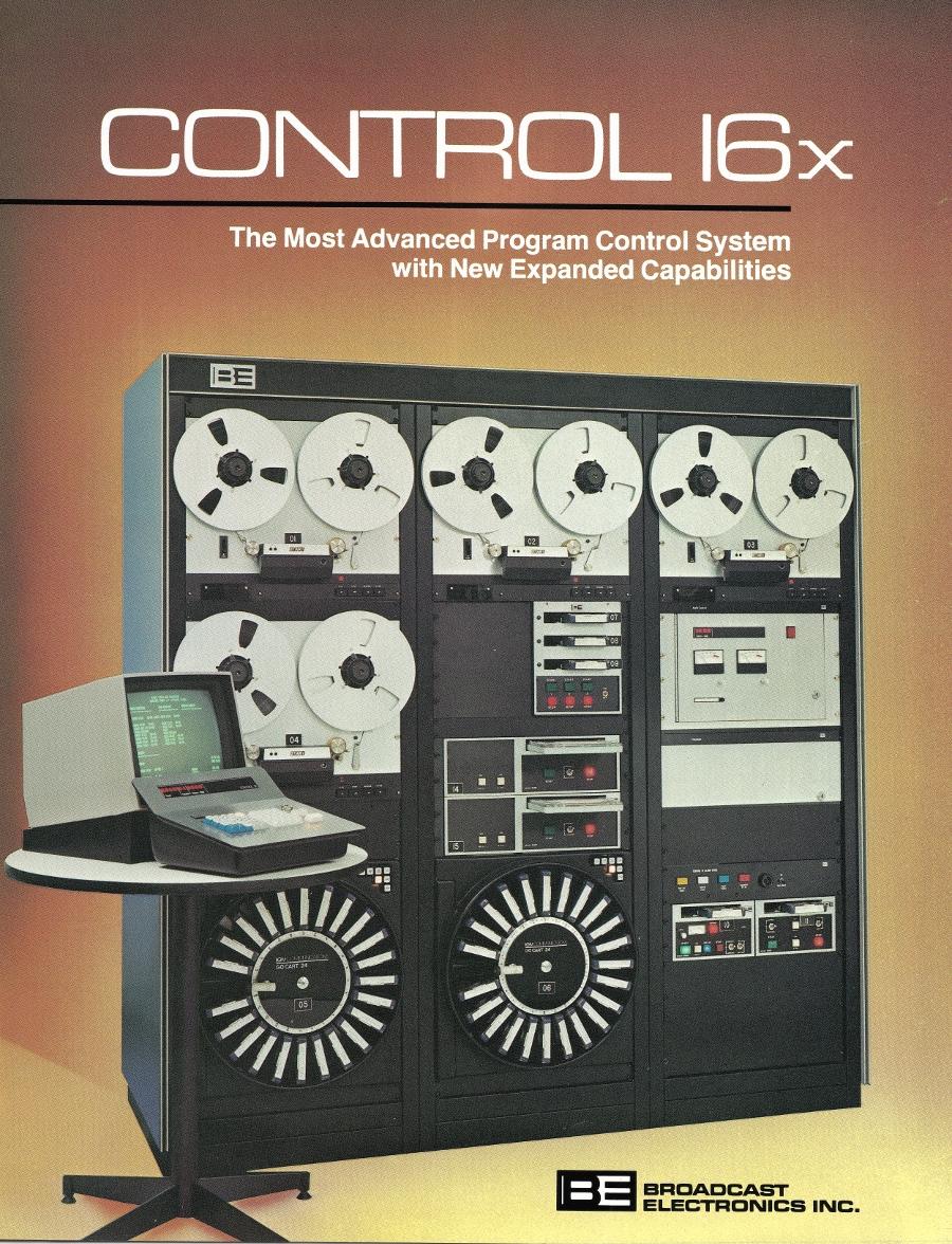 Broadcast Electronics Control 16 radio automation system