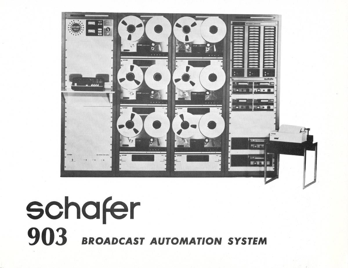 Schaffer 901 radio automation system