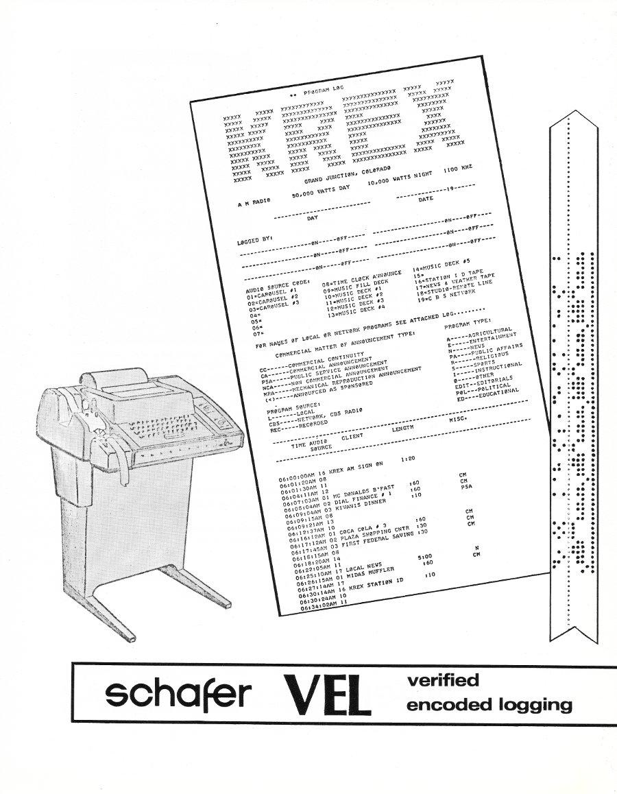 Schaffer logging system