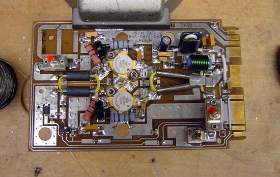 Harris Z FM series PA module repaired