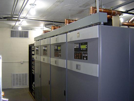Nautel V-40 transmitter (4 V-10 transmitters combined)
