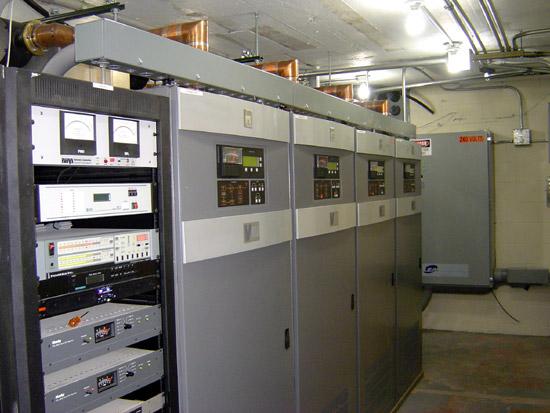 WHUD transmitter