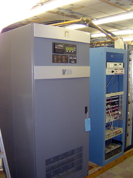 New Nautel V 7.5 FM transmitter