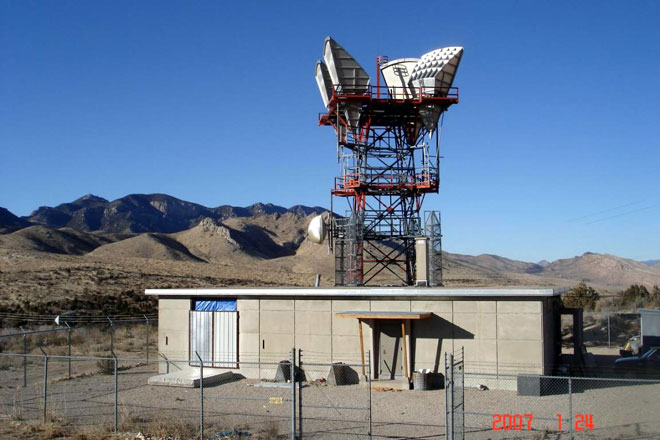 Somewhere in Utah, a phone company is missing it's microwave site...