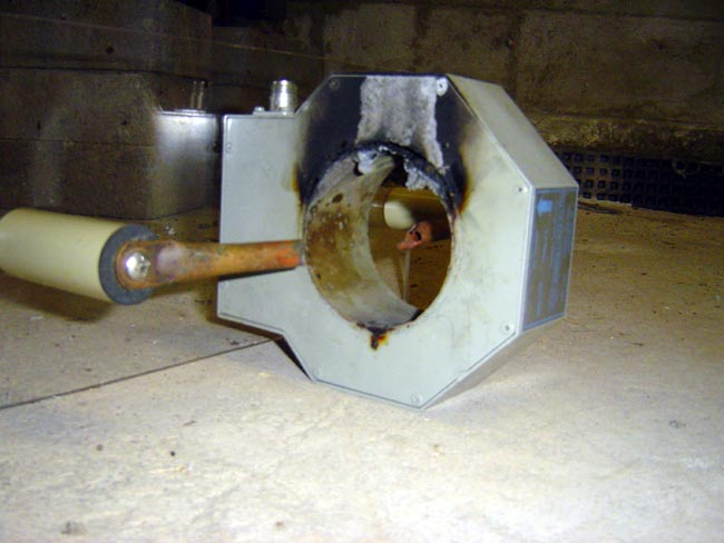 Delta TCT-1HV current sample toroid destroyed by lightning