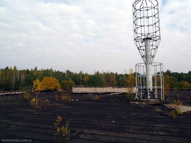 Ionospheric chirp sounder antenna, Ukraine