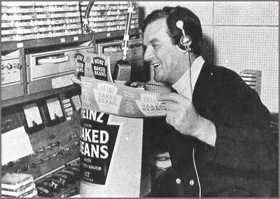 Radio London air studio aboard the MV Galaxy